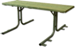 Tavolo serie pic-nic (zincato)
