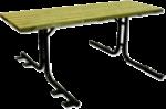 Tavolo serie pic-nic (verniciato)